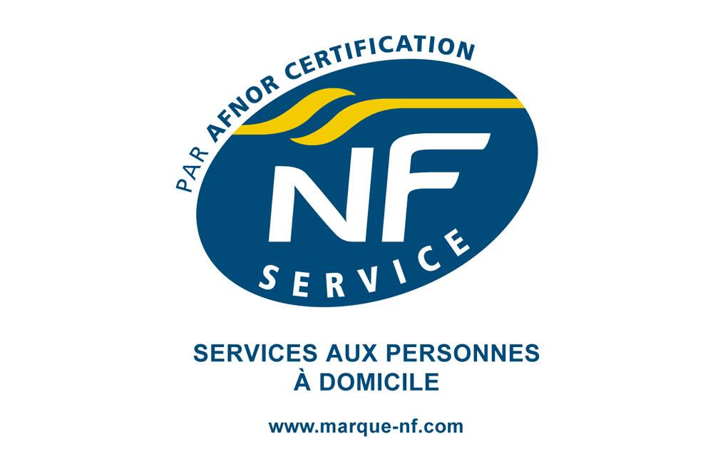 L'association est certifiée NF Service